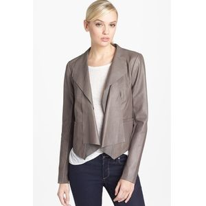 ❗️Trouve Leather Draped Blazer Jacket MSRP $298
